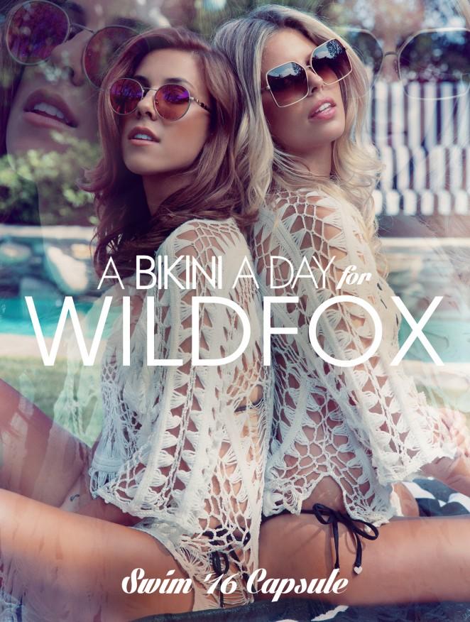 Natasha Oakley and Devin Brugman - Wildfox Photoshoot