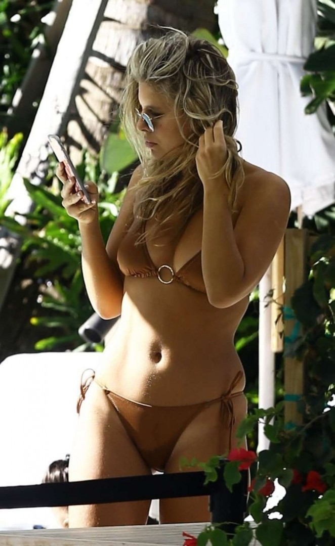 Natasha Oakley in Bikini in Miami
