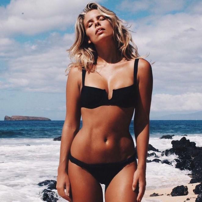 Natasha Oakley in Bikini - Instagram
