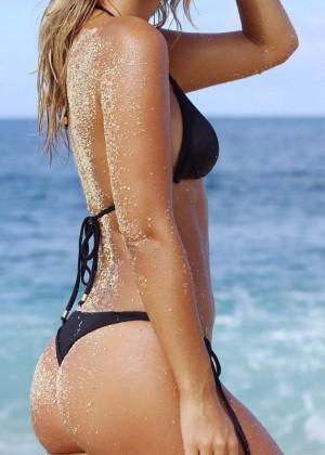 Natasha Oakley in Little Black Bikini -07