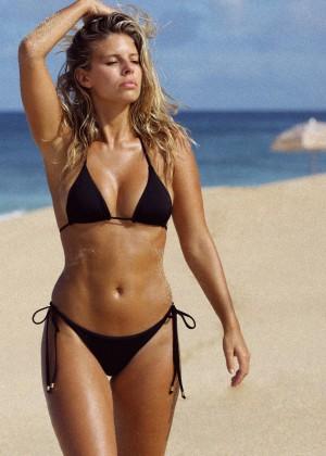 Natasha Oakley in Little Black Bikini -09