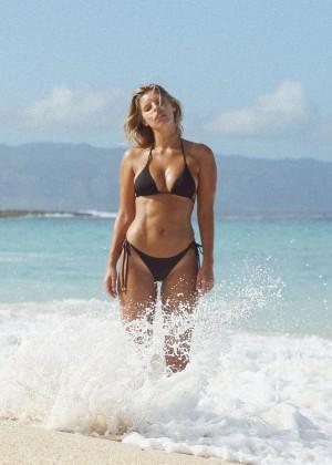 Natasha Oakley in Little Black Bikini -11