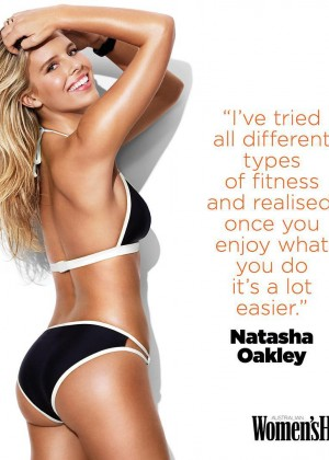 Natasha Oakley - Women's Health Australia (January 2016)