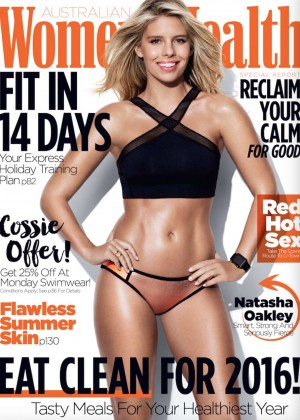 Natasha Oakley - Women's Heath Australia Magazine (January 2016)