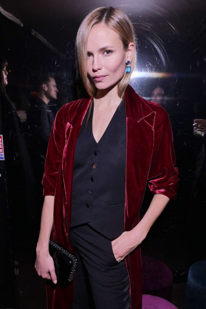 Natasha Poly at Chrome Hearts x Bella Hadid Collaboration Launch in Paris