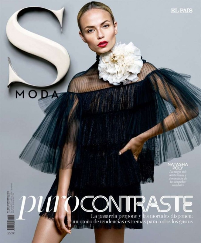 Natasha Poly - S Moda Magazine (October 2015)