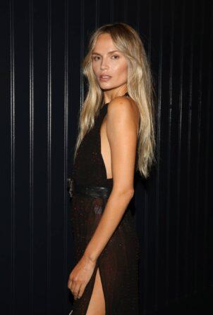 Natasha Poly - Seen at Grey Goose Vodka Party during New York Fashion Week