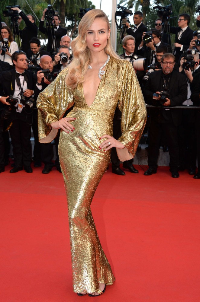 "Natasha Poly - ""The Sea Of Trees"" Premiere in Cannes"