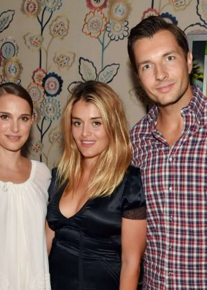 Natelie Portman: Tale of Love and Darkness Premiere after party in NYC-04