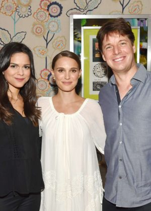 Natelie Portman: Tale of Love and Darkness Premiere after party in NYC-11