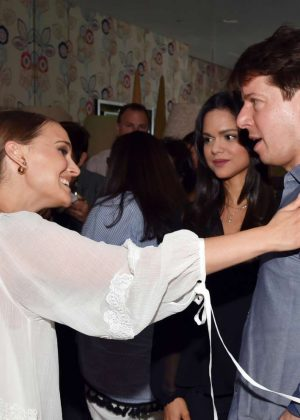 Natelie Portman: Tale of Love and Darkness Premiere after party in NYC-21