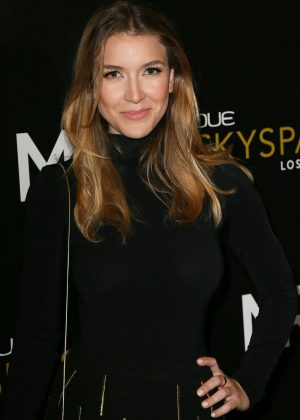 Nathalia Ramos - Launch Of OUE Skyspace in LA