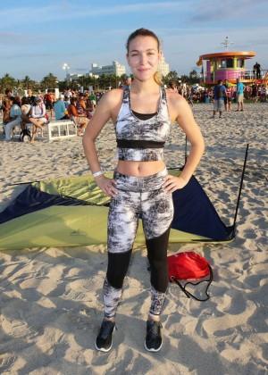 Nathalia Ramos - Life Time South Beach Triathlon in Miami Beach