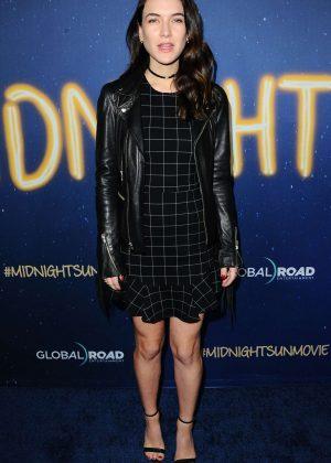 Nathalia Ramos - 'Midnight Sun' Premiere in Los Angeles
