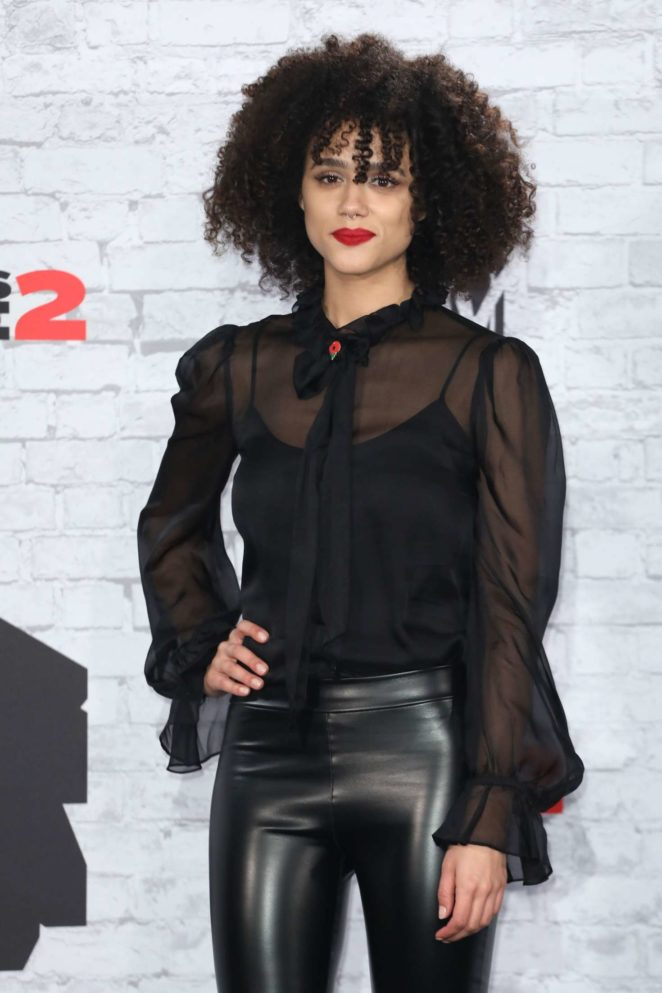 Nathalie Emmanuel - 2017 MTV Europe Music Awards in London