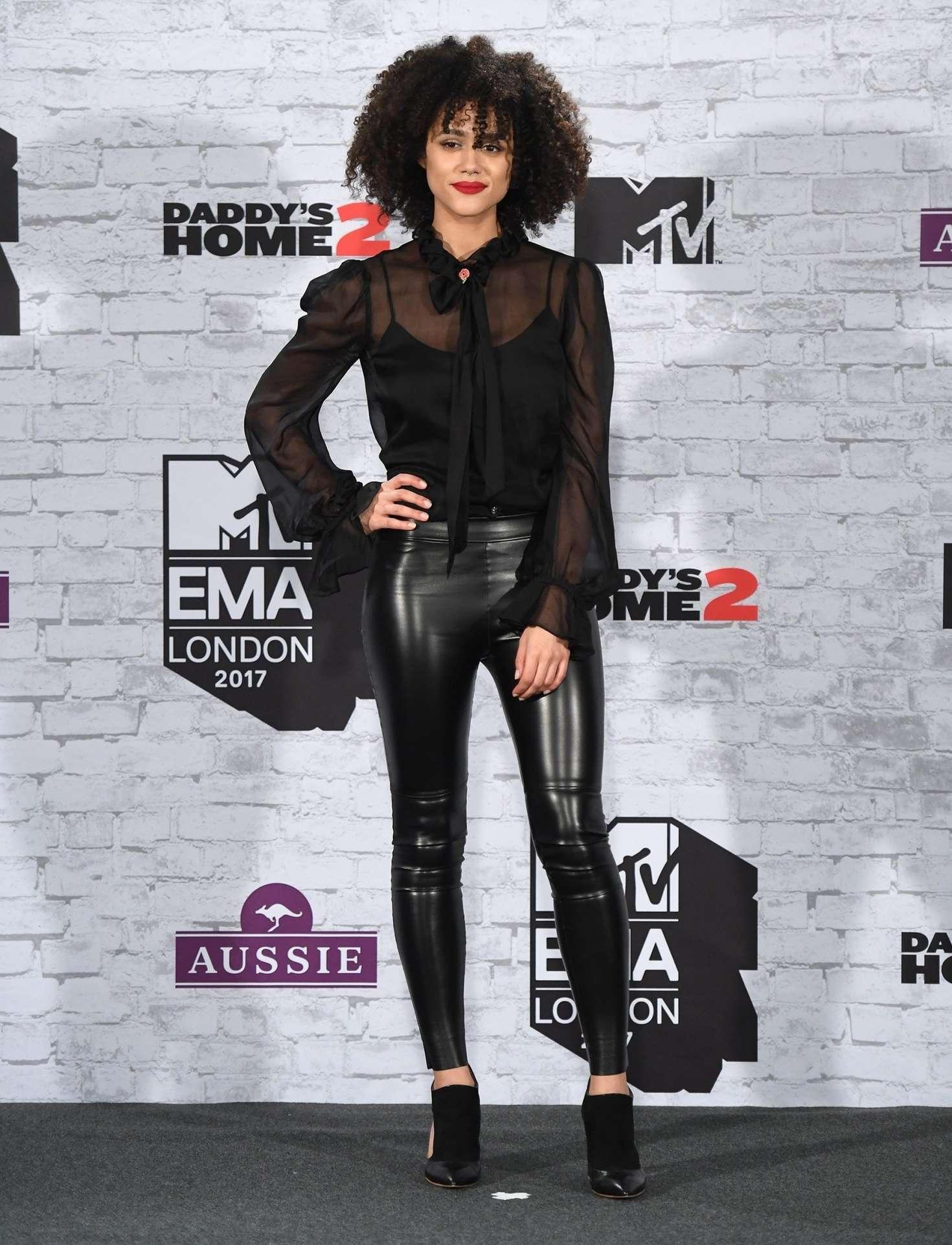 Nathalie Emmanuel 2017 : Nathalie Emmanuel: 2017 MTV Europe Music Awards -06