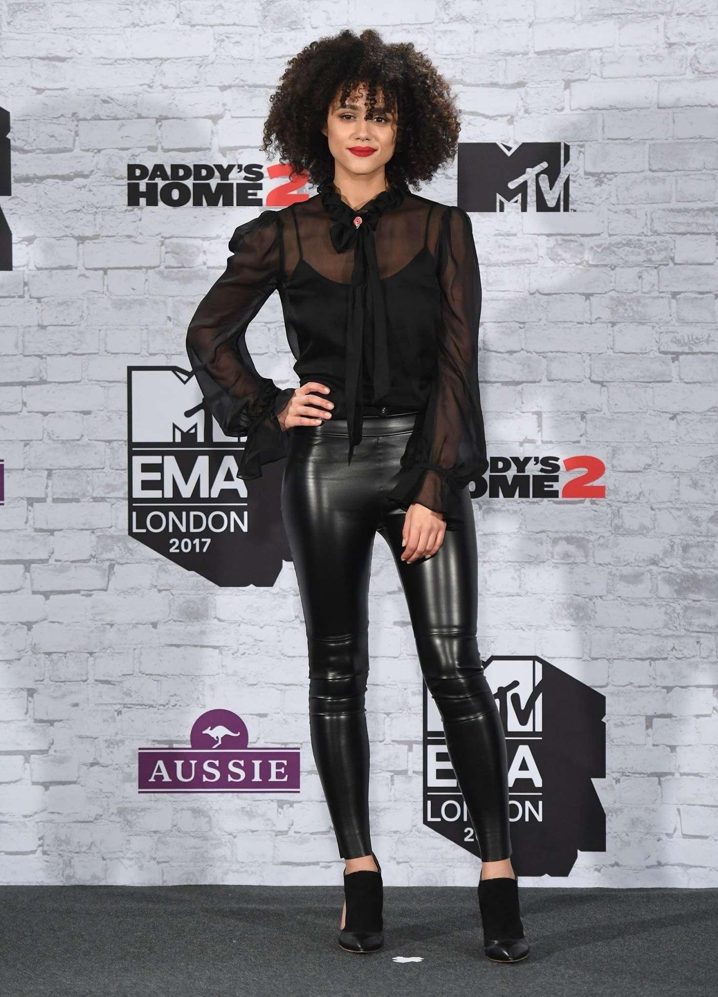 Nathalie Emmanuel 2017 : Nathalie Emmanuel: 2017 MTV Europe Music Awards -07