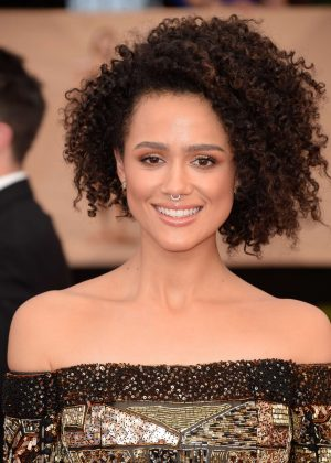 Nathalie Emmanuel - 2017 Screen Actors Guild Awards in Los Angeles