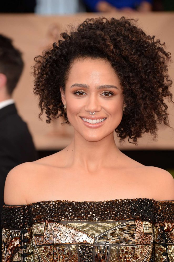 Nathalie Emmanuel - 2017 Screen Actors Guild Awards in Los Angeles