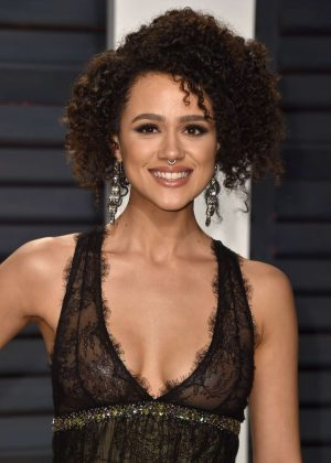 Nathalie Emmanuel - 2017 Vanity Fair Oscar Party in Hollywood