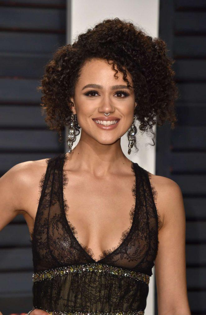Nathalie Emmanuel - 2017 Vanity Fair Oscar Party in Hollywood