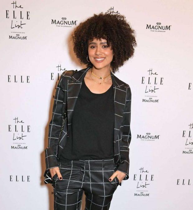 Nathalie Emmanuel - 2019 ELLE List in association with MAGNUM ice cream in London