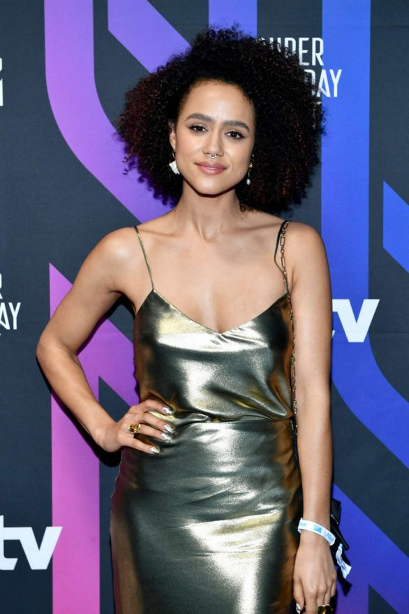 Nathalie Emmanuel - 2020 ATT Super Saturday Night in Miami