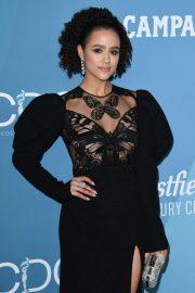 Nathalie Emmanuel - 2020 Costume Designers Guild Awards in Beverly Hills