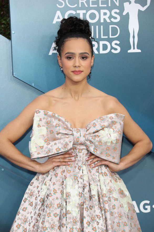 Nathalie Emmanuel - 2020 Screen Actors Guild Awards in Los Angeles