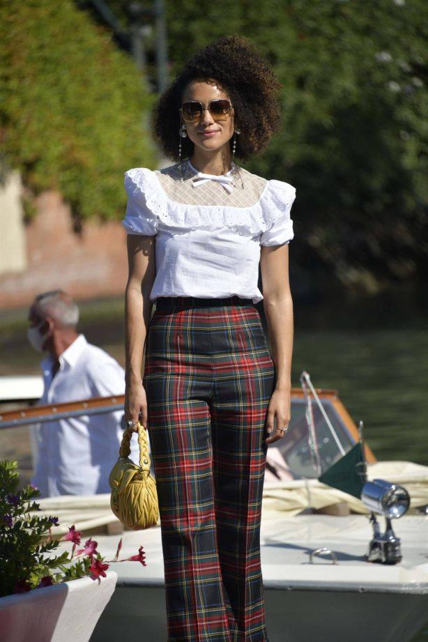 Nathalie Emmanuel - 2020 Venice Film Festival in Venice