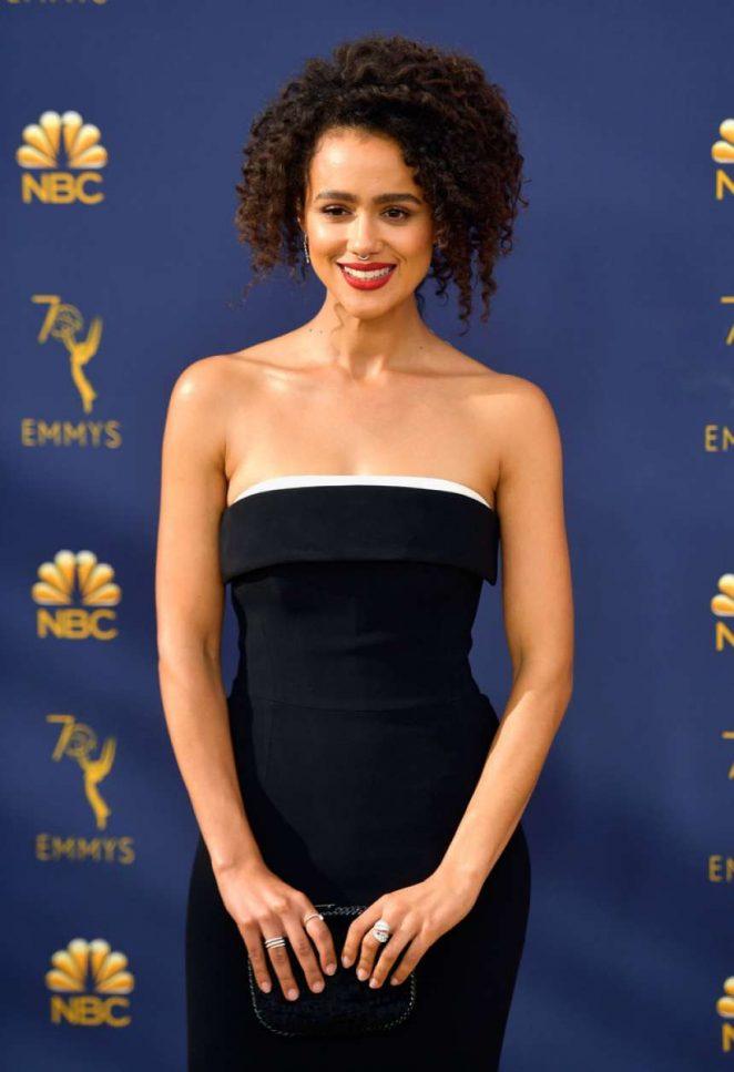 Nathalie Emmanuel – 70th Primetime Emmy Awards in LA