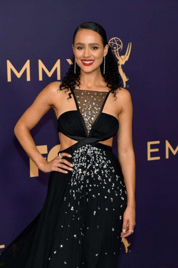 Nathalie Emmanuel - 2019 Emmy Awards in Los Angeles