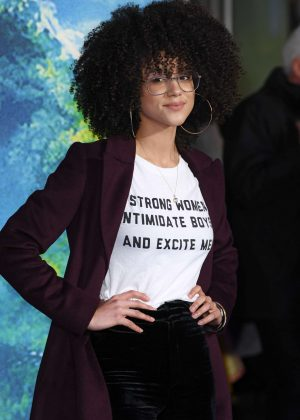 Nathalie Emmanuel - 'A Wrinkle In Time' Premiere in London