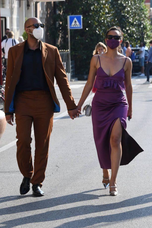 Nathalie Emmanuel - Arriving at 77th Venice Film Festival