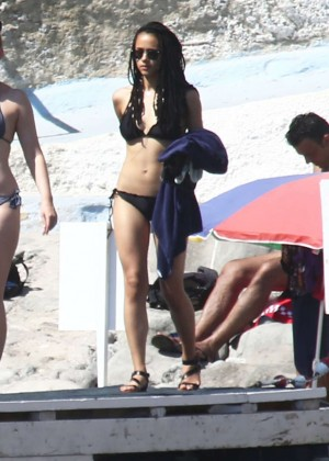 Nathalie Emmanuel Bikini Candids In Ischia Gotceleb