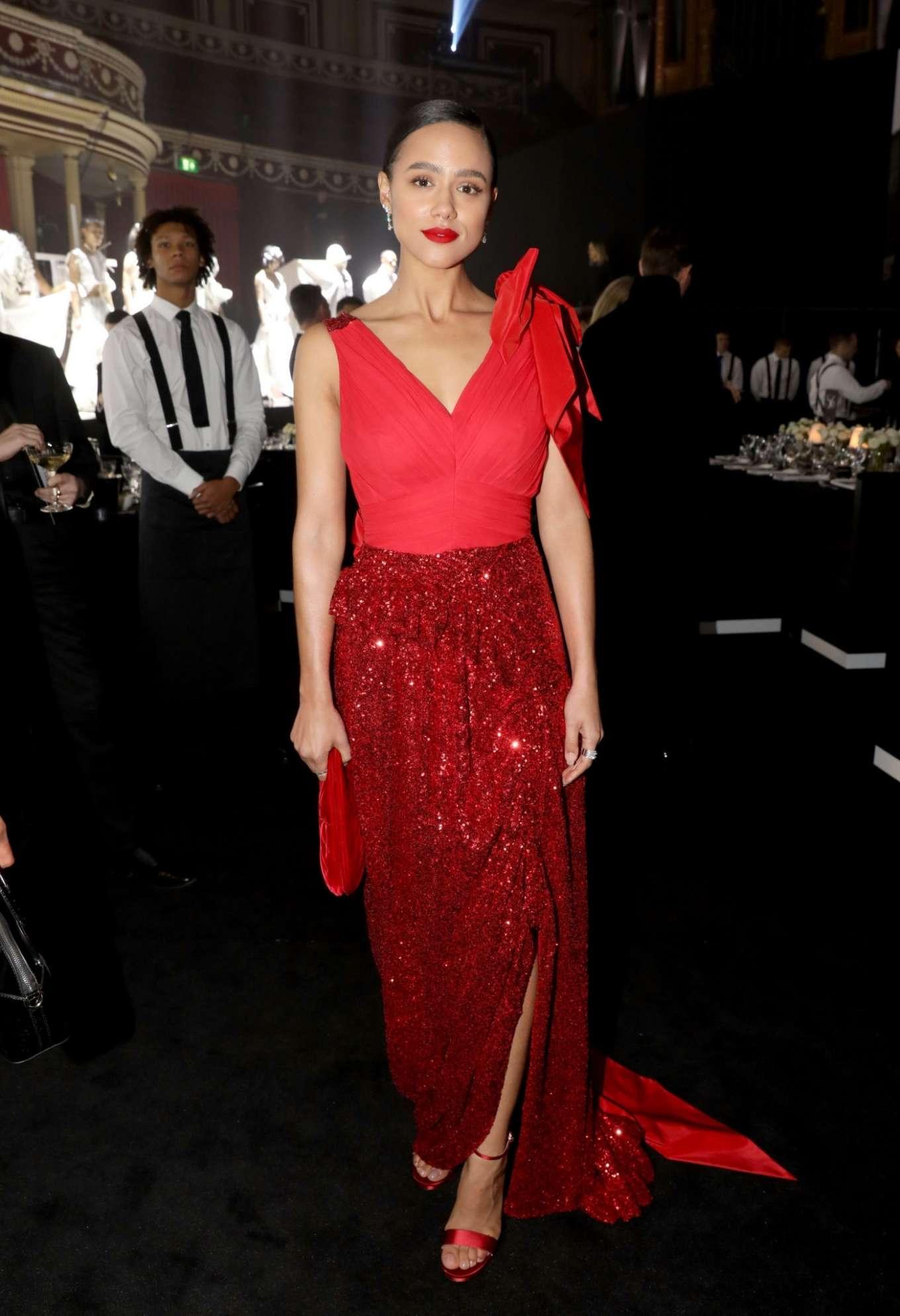 Nathalie Emmanuel 2019 : Nathalie Emmanuel – Fashion Awards 2019 in London-01