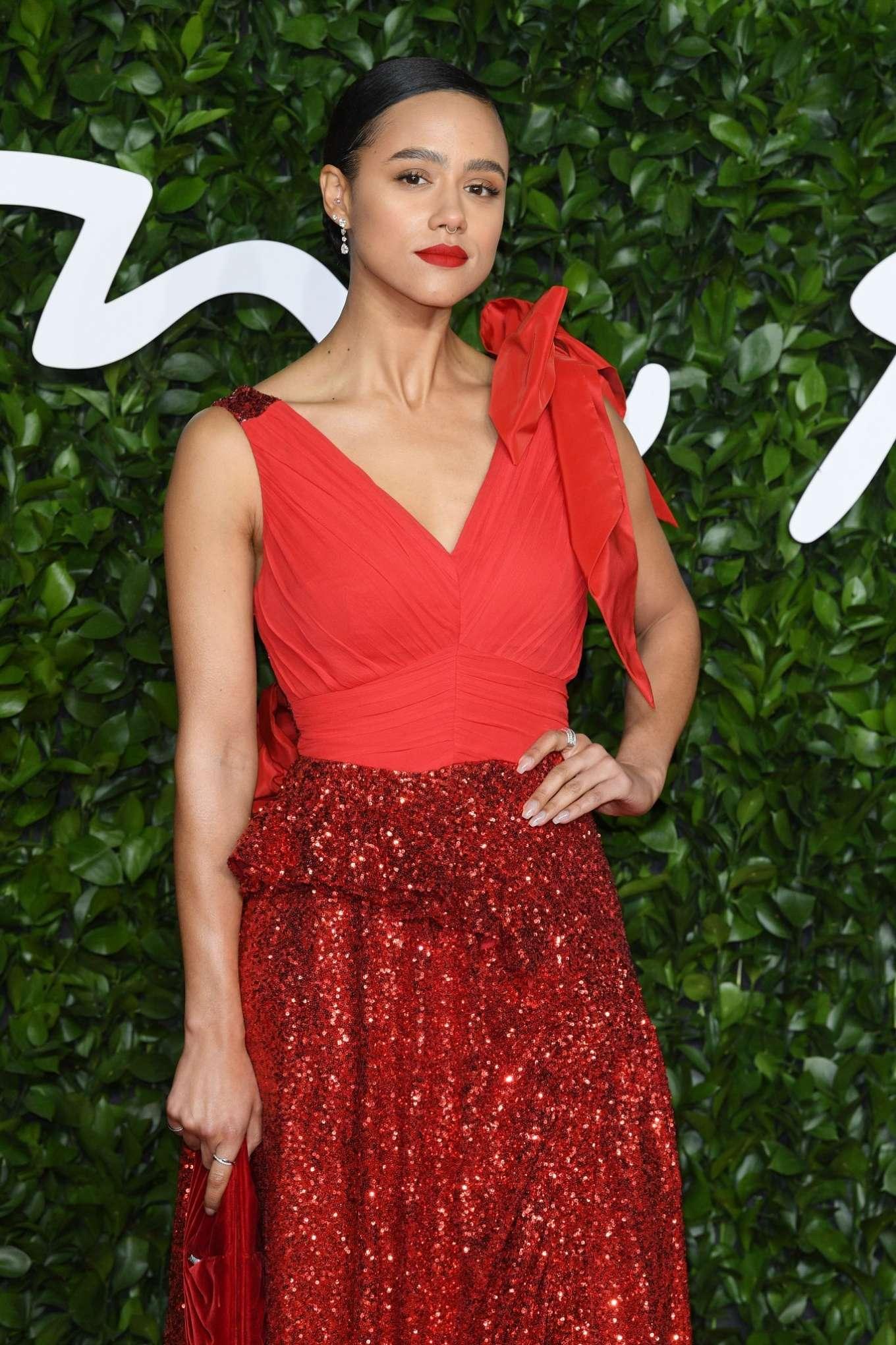 Nathalie Emmanuel - Fashion Awards 2019 in London