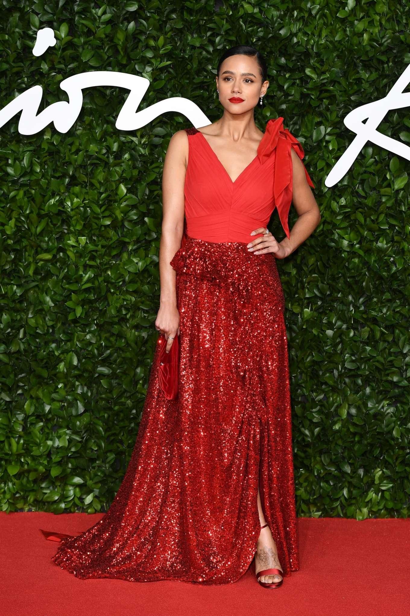 Nathalie Emmanuel 2019 : Nathalie Emmanuel – Fashion Awards 2019 in London-03
