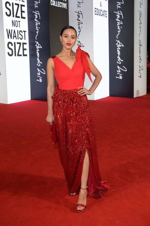 Nathalie Emmanuel 2019 : Nathalie Emmanuel – Fashion Awards 2019 in London-06