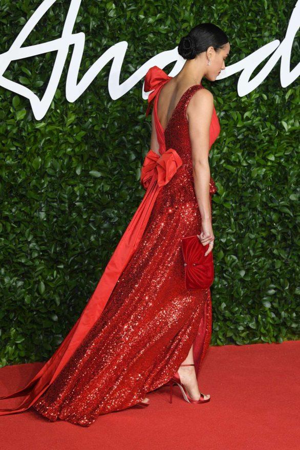 Nathalie Emmanuel 2019 : Nathalie Emmanuel – Fashion Awards 2019 in London-15