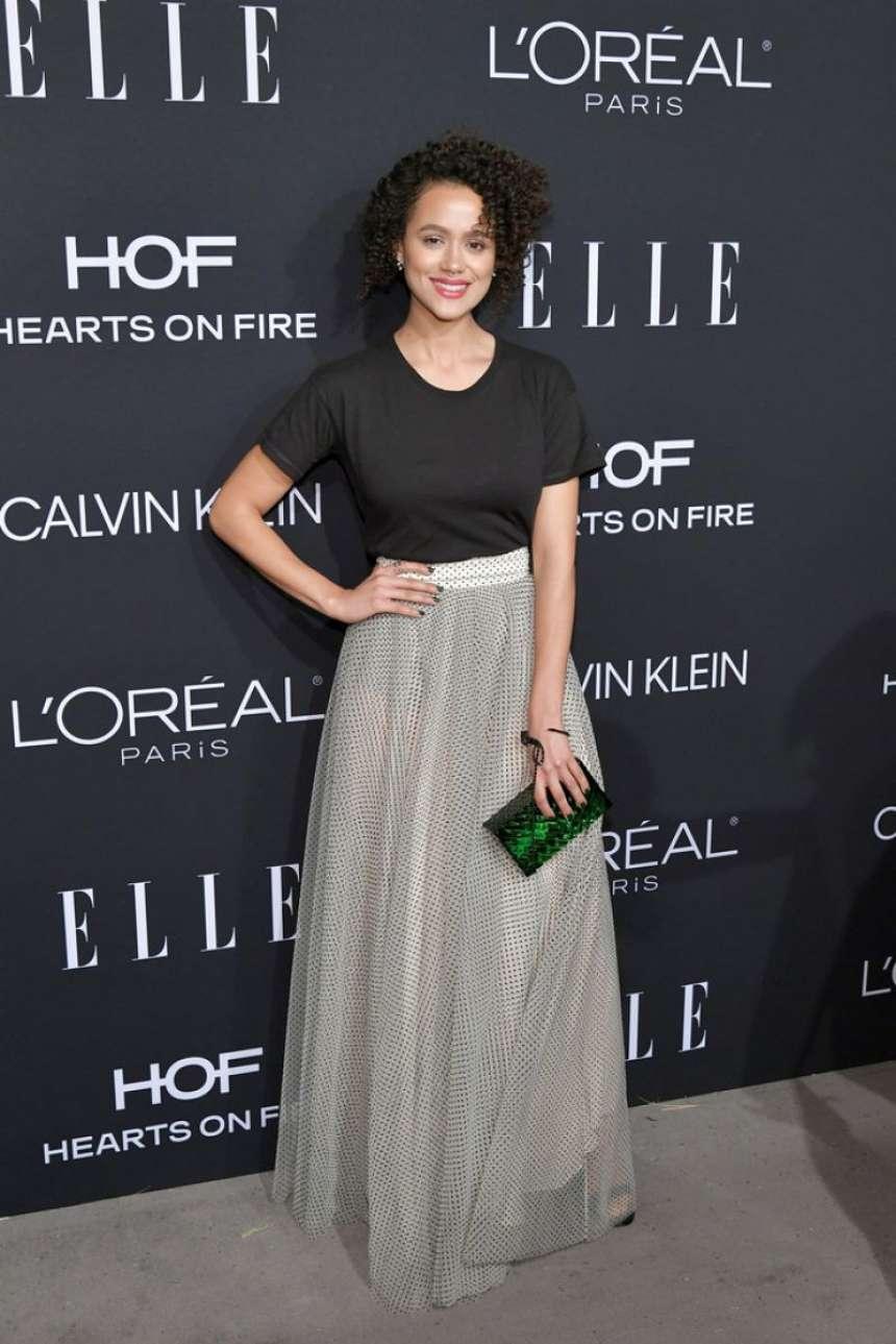 Nathalie Emmanuel 2018 : Nathalie Emmanuel: ELLEs 25th Women in Hollywood Celebration-01