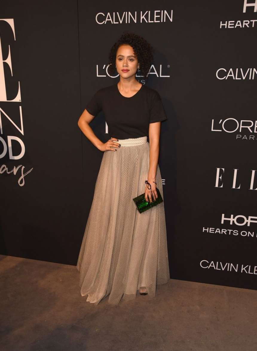 Nathalie Emmanuel 2018 : Nathalie Emmanuel: ELLEs 25th Women in Hollywood Celebration-02