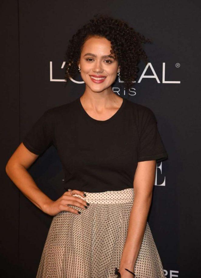 Nathalie Emmanuel – ELLE's 25th Women in Hollywood Celebration in LA