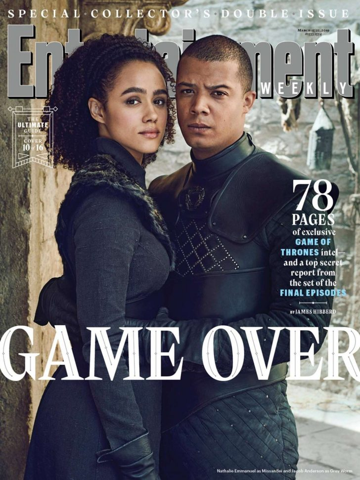 Nathalie Emmanuel - Entertainment Weekly (March 2019)