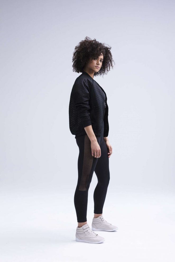 Nathalie Emmanuel 2018 : Nathalie Emmanuel for Reebok Womens Training Collection 2018 -01