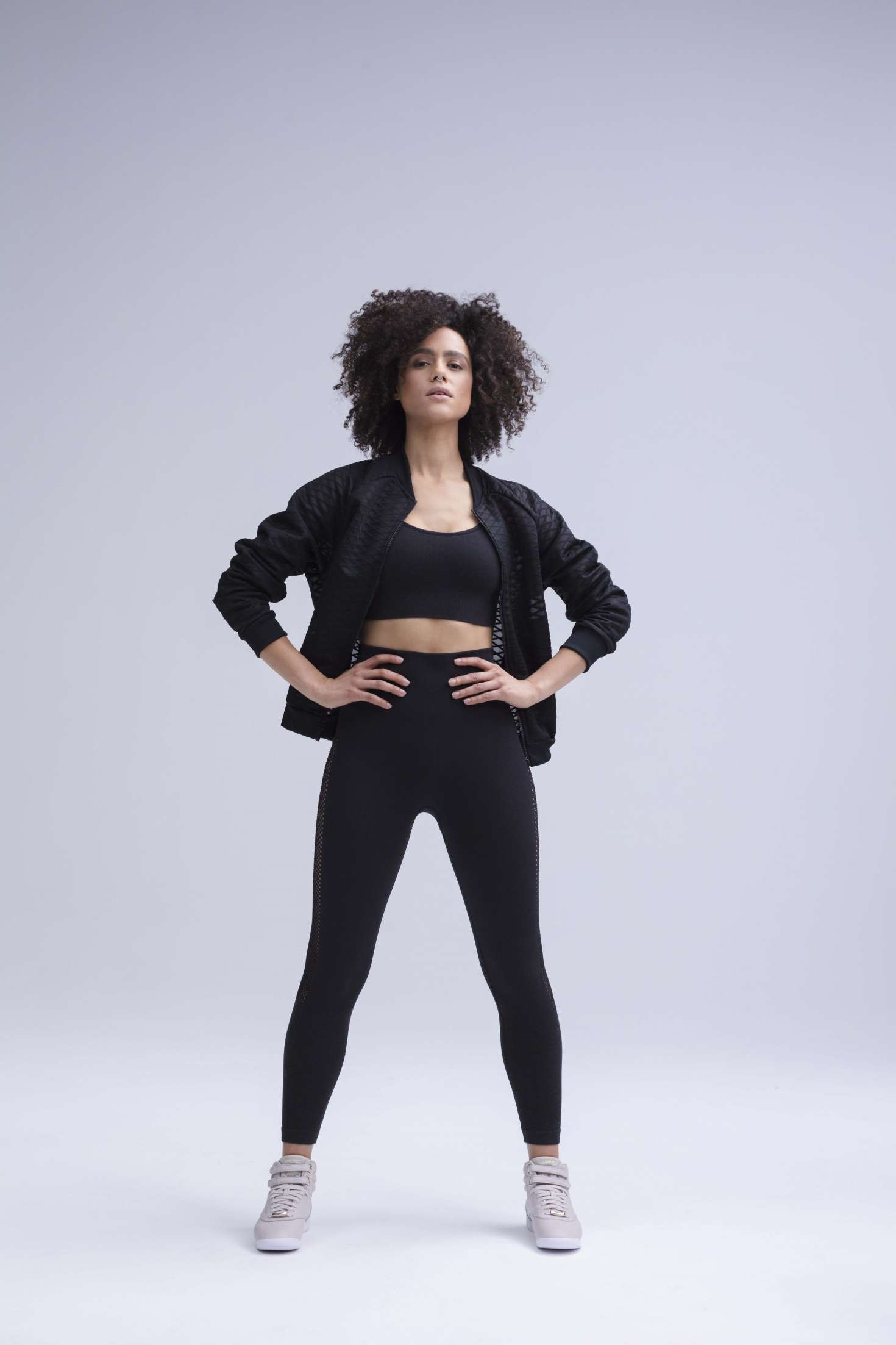 Nathalie Emmanuel for Reebok Womens Training Collection 2018