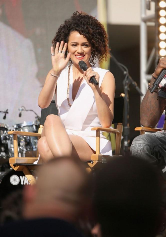 "Nathalie Emmanuel - ""Furious 7"" Concert Hosted by REVOLT in Hollywood"