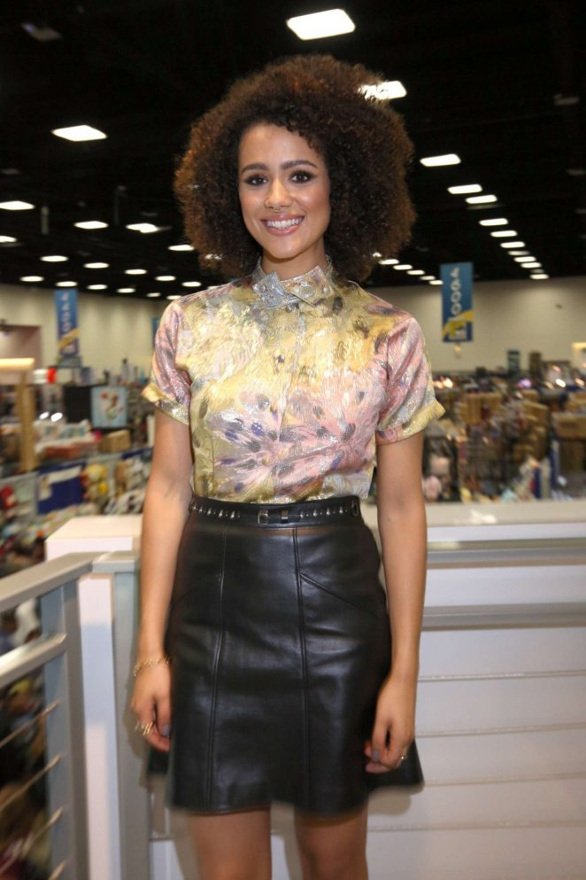 Nathalie Emmanuel - 'Game of Thrones' Autograph Signing at Comic Con 2016 in San Diego