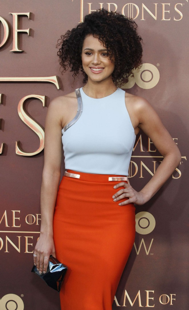 Nathalie Emmanuel - 'Game of Thrones' Season 5 San Francisco Premiere
