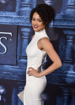Nathalie Emmanuel - 'Game of Thrones' Season 6 Premiere in Hollywood